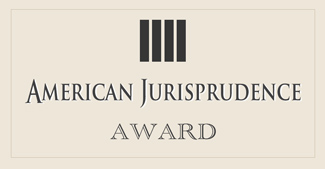 American Jurisprudence Award - Wasatch Defense Lawyers