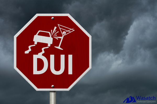 DUI Penalties Stop Sign in Utah