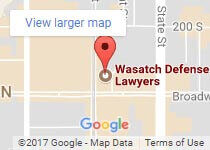 Wasatch Defense Lawyers Map
